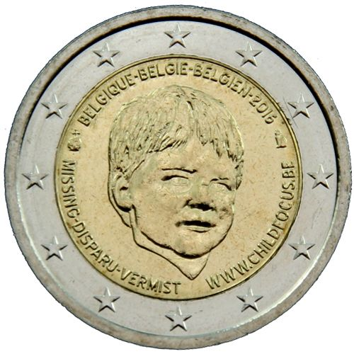 "2 Euro Belgien 2016 ""Child Focus"""
