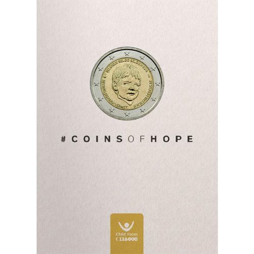 "2 Euro Belgien 2016 ""Child Focus"" Coincard"