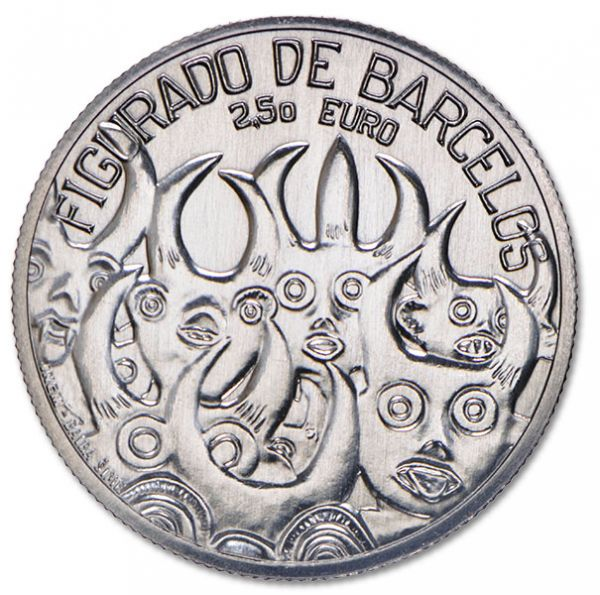"2,50 Euro Portugal 2016 ""Barcelos Ceramic"""