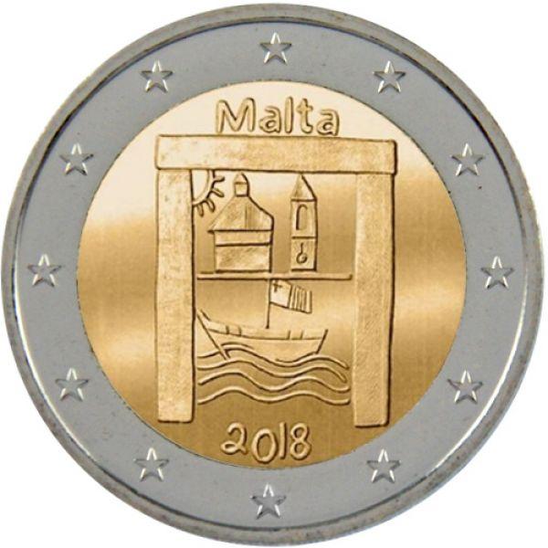 Münzmeisterei 2 Euro Italien 2018 Verfassung