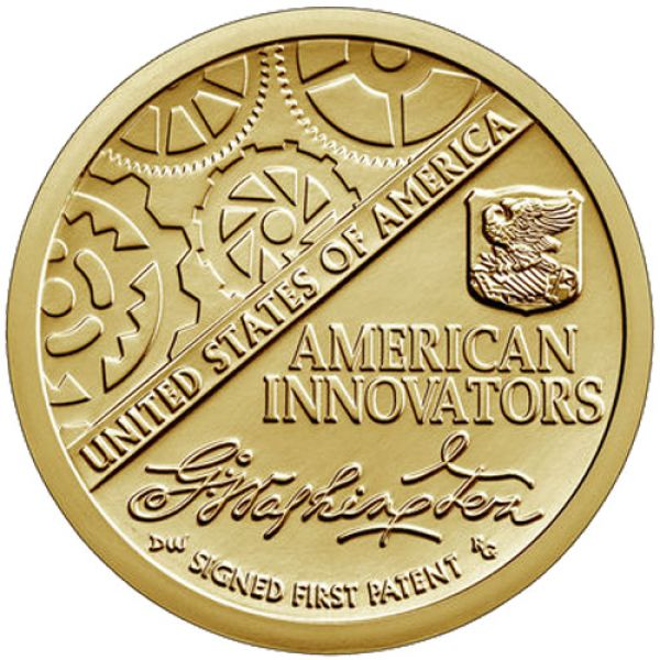 "USA 1 Dollar 2018 ""American Innovation - 1. Patent"""