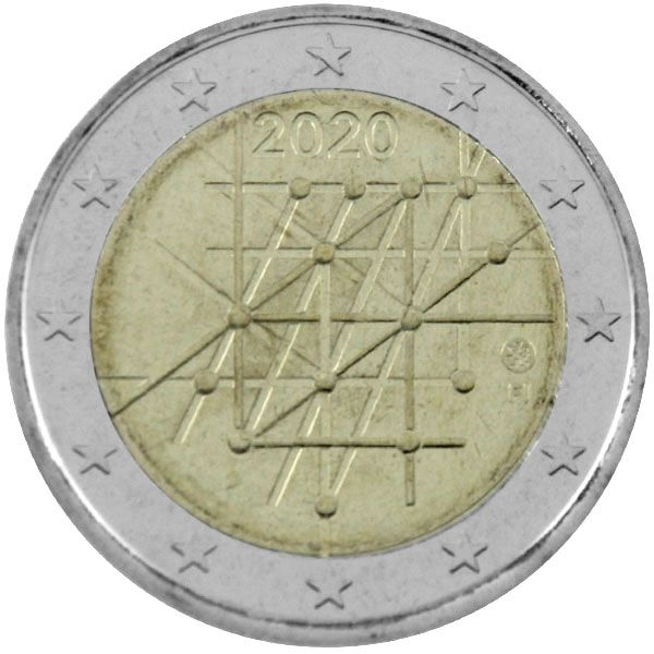 "2 Euro Finnland 2020 ""Universität Turku"""