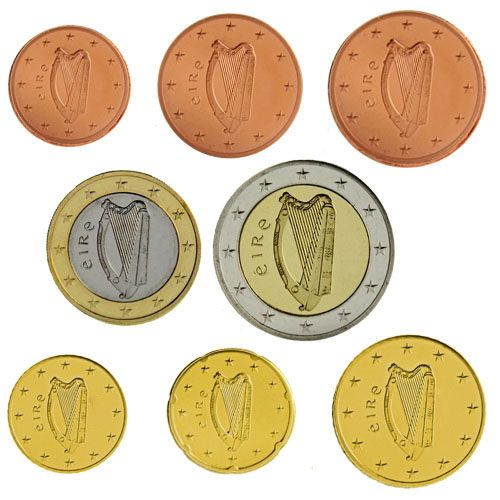 "KMS Irland 2008 ""1 Cent - 2 Euro"" lose"