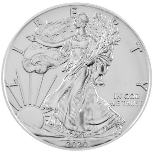 1 Oz Silber - USA - American Eagle 2020