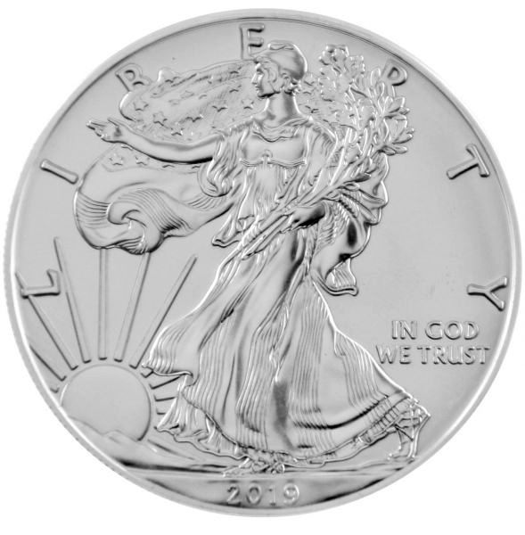 1 Oz Silber - USA - American Eagle 2019