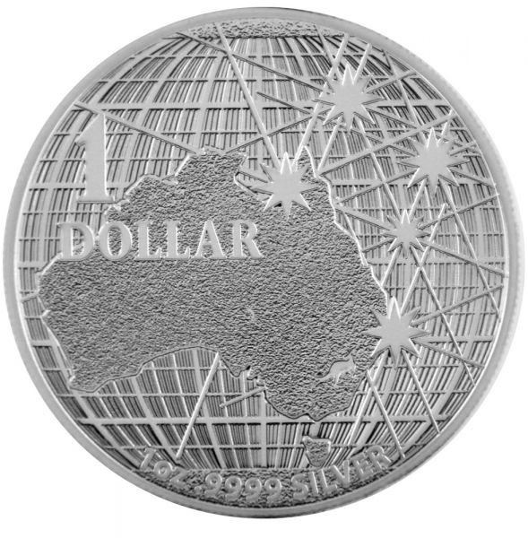 1 Oz Silber - Australien - Beneath the Southern Skies 2020