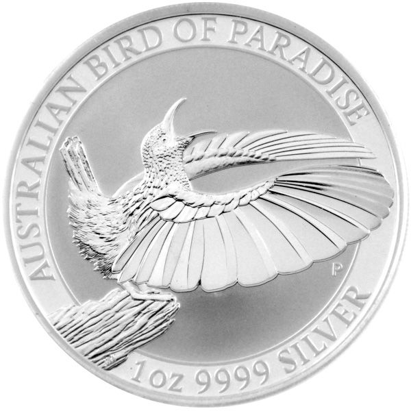 1 Oz Silber - Australien - Birds of Paradise 2018