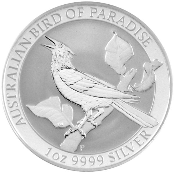 1 Oz Silber - Australien - Birds of Paradise - Manucodia 2019