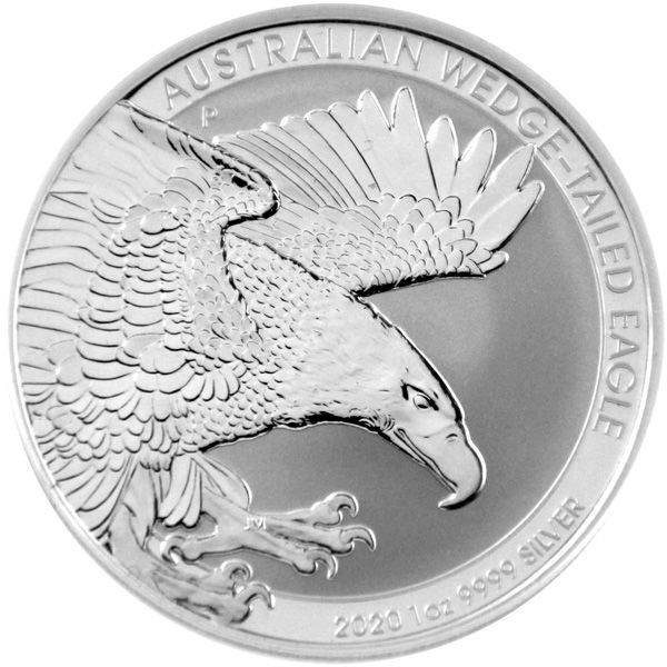 1 Oz Silber - Australien - Wedge-Tailed-Eagle 2020