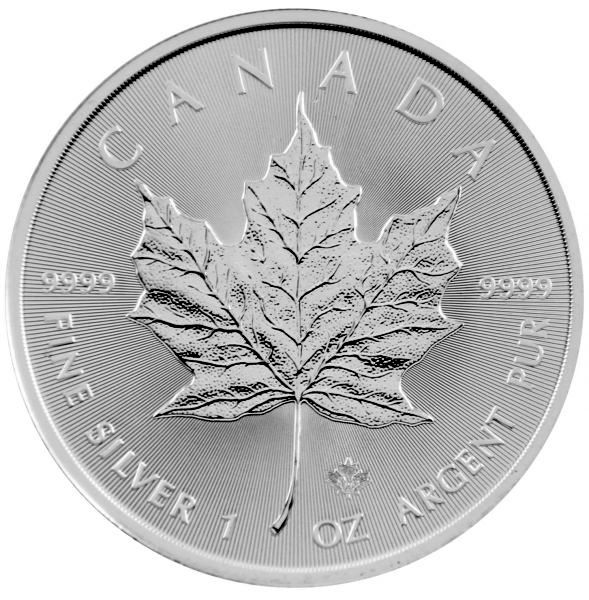 1 Oz Silber - Kanada - Maple Leaf 2021