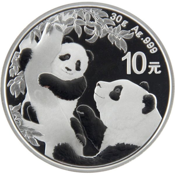 30g Silber - China - Panda 2021