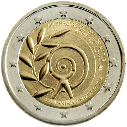 "2 Euro Griechenland 2011 ""Special Olympics"""