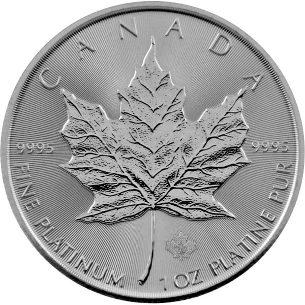 1 Oz Platin - Kanada - Maple Leaf 2021