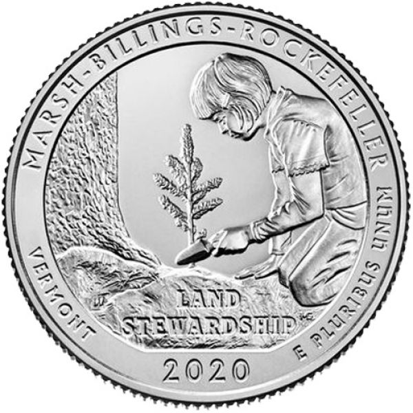"USA 1 Quarter 2020 ""Marsh-Billings-Rockefeller"""