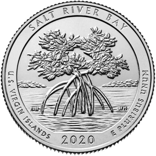 "USA 1 Quarter 2020 ""Salt River Bay"""