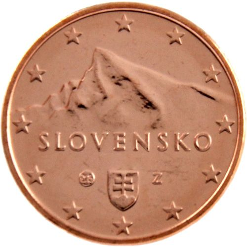 2 Cent Slowakei 2016 Kursmünze