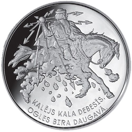 "5 Euro Lettland 2017 ""Smith Forges"""
