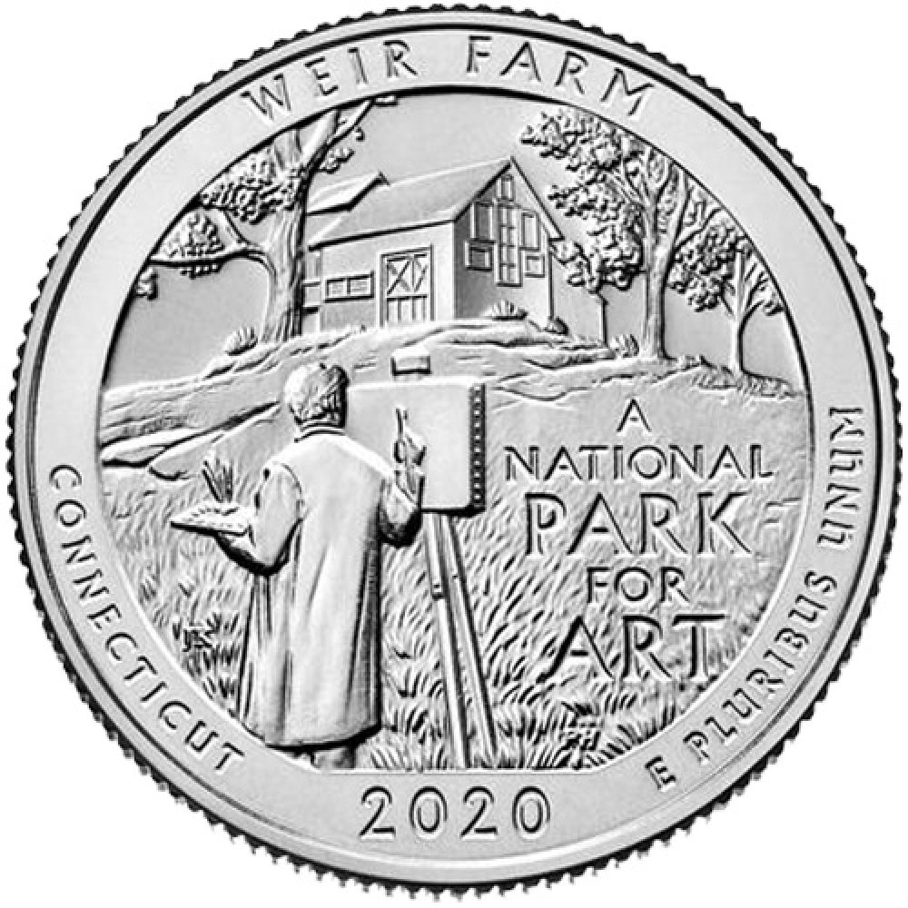 "USA 1 Quarter 2020 ""Weir Farm"""